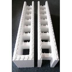 Polystyrenové tvárnice 25 cm - koncové