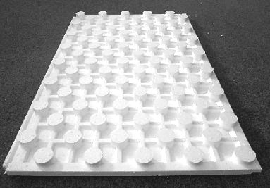 Desky - podlahové topení